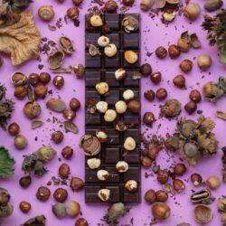 czekolada i orzechy