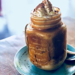 Caramel Iced Drinking Chocolate